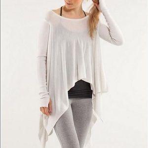 Lululemon Enlightened Pullover Sweater White